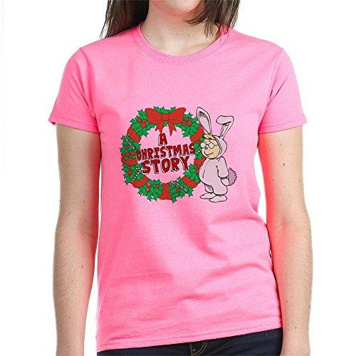 CafePress - Christmas Story Women's Dark T-Shirt - Womens Cotton T-Shirt