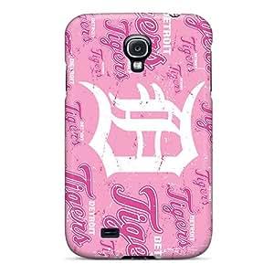 RudyPugh Samsung Galaxy S4 Durable Hard Phone Case Custom Lifelike Detroit Tigers Image [uSm7141VoPO]