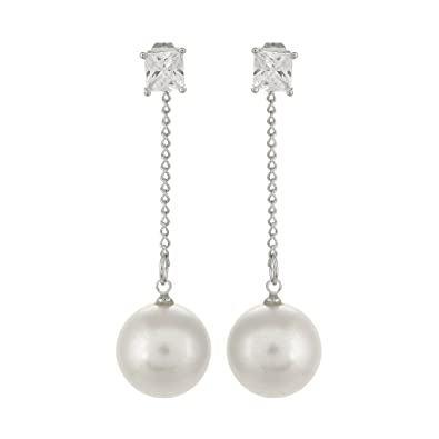 a marcus earrings for drop pearl neiman penny preville perfect diamond long pin
