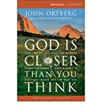 img - for God Is Closer Than You Think Participant's Guide: This Can Be the Greatest Moment of Your Life Because This Moment Is the Place Where You Can Meet God[ GOD IS CLOSER THAN YOU THINK PARTICIPANT'S GUIDE: THIS CAN BE THE GREATEST MOMENT OF YOUR LIFE BECAUSE THIS MOMENT IS THE PLACE WHERE YOU CAN MEET GOD ] By Ortberg, John ( Author )Mar-15-2005 Paperback book / textbook / text book
