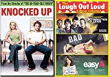 School Antics Funny Bad Teacher & Easy A / 30 Minutes or Less + Knocked Up 4 Pack DVD Laugh Movie Comedy Night