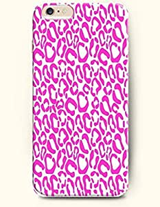 Beautiful Girly Magenta Leopard Grain - Animal Print - Phone Cover for Apple iPhone 6 Plus ( 5.5 inches ) - SevenArc ...