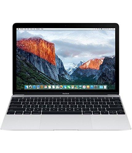 Apple – MacBook 12″ (All-in-One Desktop PC, 1.2 GHz, 512 SSD, 8 GB RAM, Intel), Plateado