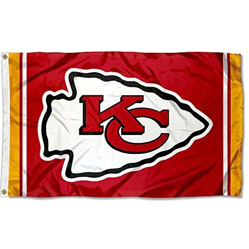 WinCraft Kansas City Chiefs KC Large NFL 3x5 ()