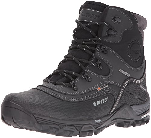 Hi-Tec Men's Trail Ox Winter 200g Waterproof-M Snow Boot, Black/Charcoal, 11 M US