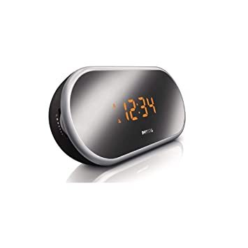 Philips AJ1060/12 - Radio (Reloj, Digital, FM, 4 dígitos, Giratorio, Corriente alterna): Amazon.es: Electrónica