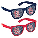 Sports and Tailgating MLB Party St. Louis Cardinals Printed Glasses Accessories, Plastic, Adult Size, Pack of 10