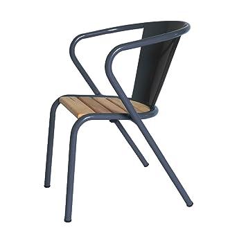 Chaise de jardin goncalo en acier inoxydable | erhöhte assise avec ...