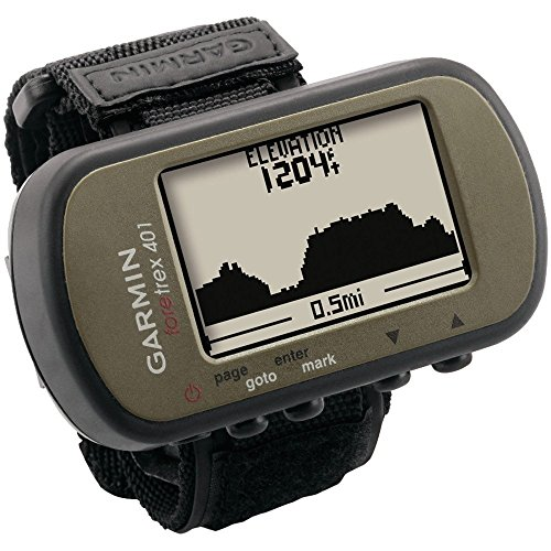 Garmin Foretrex 401 Waterproof Hiking GPS - best gps devices hiking