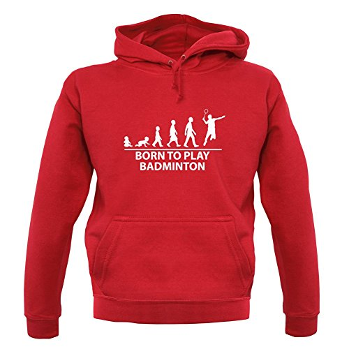 Unisex pull Dressdown To 12 Born Couleur Badminton Sweat Rouge Play aqf1OfIP