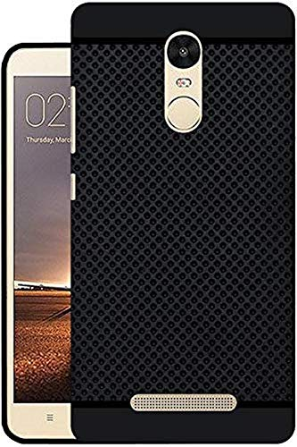 0b5d0d6d0d3 VCM Premium Dotted Soft Ruberised Back Case Cover for Xiaomi Redmi Note  3 Mi Redmi Note 3 Mi Note3(Black)