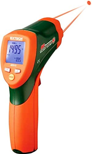 Extech 42512 Dual Laser Infrared Thermometer 30 1