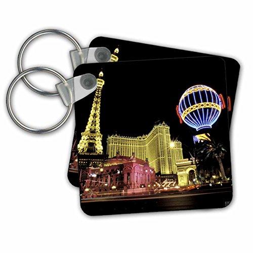 Kike Calvo Las Vegas - Paris Hotel and Casin at Las Vegas Strip United States - Key Chains - set of 2 Key Chains (kc_37789_1)