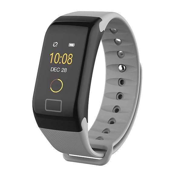 Amazon.com: Reloj de pulsera inteligente, F1 Plus relojes de ...