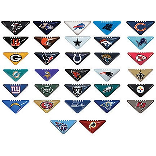 (Tabletops 20 NFL Logo Football Flickers Table Top Team Finger Game Set Flick It Helmet Logo)