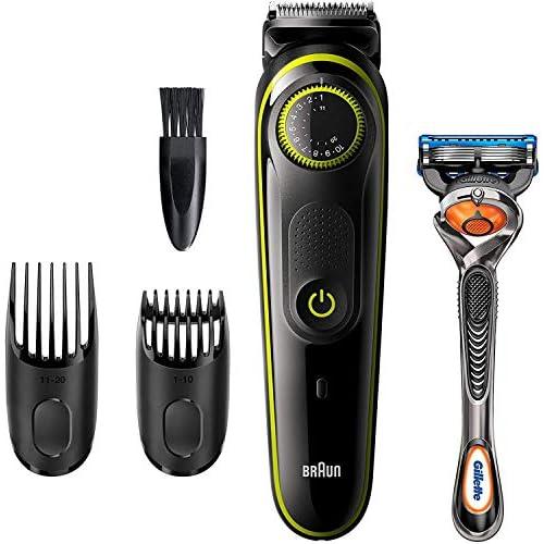 Braun BT3241 – Recortadora de Barba, Máquina Cortar Pelo, Recortadora de Barba y Cortapelos, para Hombre, Cuchillas…