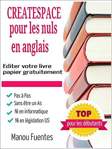 Amazon Com Createspace Pour Les Nuls En Anglais French