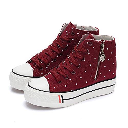 NGRDX&G Damen Turnschuhe Lace-Up Weiße Frauen Schuhe Schuhe Schuhe Frauen Pu-Leder Volltonfarbe Schuhe Freizeitschuhe Sportschuhe 3626b5
