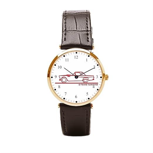 Correa de piel reloj relojes de piel Convertible Racer mejor: Amazon.es: Relojes