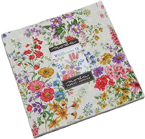 - Wildflowers IX Layer Cake, 42-10