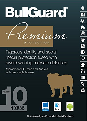 BullGuard Premium Protection 2017, 1 Year , 10 Devices