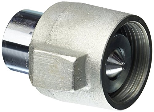 Dixon 10WSF10 Steel Hydraulic Fitting, High Pressure Coupler, 1-1/4'' Coupling x 1-1/4'' - 11-1/2 NPTF by Dixon Valve & Coupling
