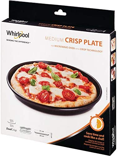Whirlpool AVM290 Microwave Accessory/A Crisp Plate Medium Thin ø29 cm/Also Suitable for Bauknecht Microwave Diameter 29 cm