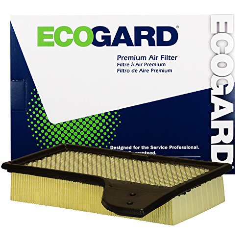 Mustang Engine - ECOGARD XA10421 Premium Engine Air Filter Fits 2015-2017 Ford Mustang