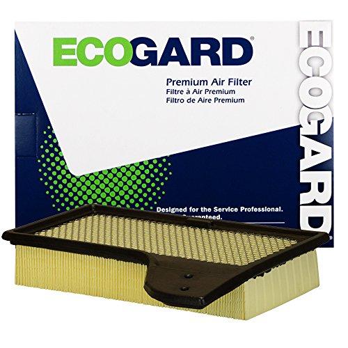 EcoGard XA10421 Premium Engine Air Filter Fits Ford 2.3L 5.0L 2015-2020, Mustang 3.7L 2015-2017