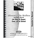 New Operators Manual Made for Minneapolis Moline Tractor Model Jet Star III