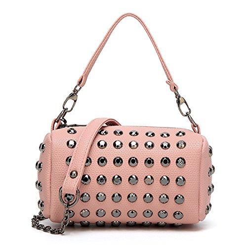 Meaeo Bandoulière Sac Pink Mode Embrayage À Rose Diagonal Main Sac Sac À TOr4xTU