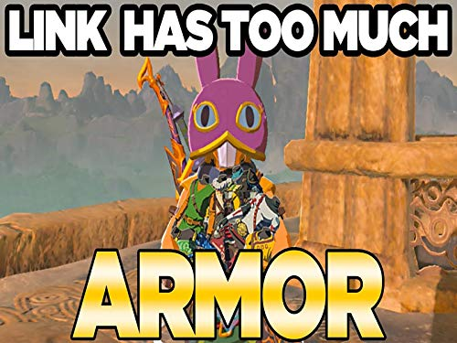 Dlc Pack Two Has Too Much Armor In Zelda Breath of the Wild Champions Ballad (Best Armor In Breath Of The Wild)