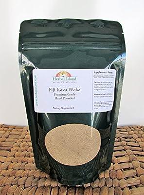 Kava Kava Powder Fiji Pride Fine Hand Pounded Waka - 4oz (Free Shipping)