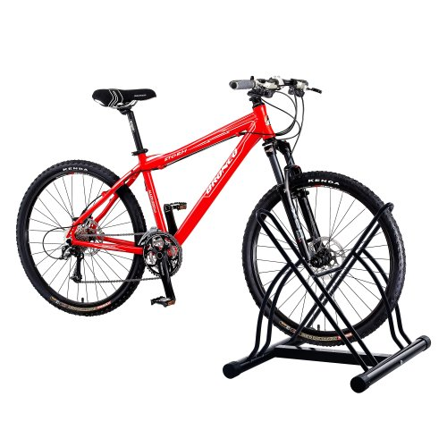 RAD Cycle Products Mighty Rack Two Bike Floor Stand Bicycle Instant Park Bike Rack Cycle Stand - Pro-Quality!