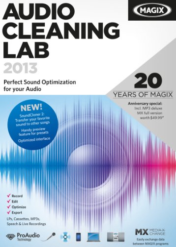 MAGIX Audio Cleaning Lab 2013  [Download] by MAGIX