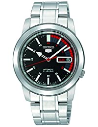 Seiko Men's SNKK31 Automatic-Self-Wind Black Dial Watch