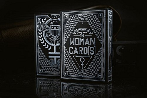 The Woman Cards Deck Silver Playing Cards Hillary Clinton