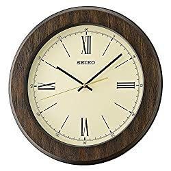 Seiko Wood Wall Clock (Model: QXA682BLH)