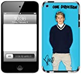 Zing Revolution One Direction Premium Vinyl Adhesive Skin for iPod Touch 4G, Niall Blue Bright