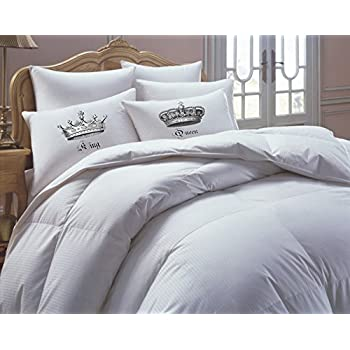 Amazon Com King And Queen Pillowcases Couples Gift His