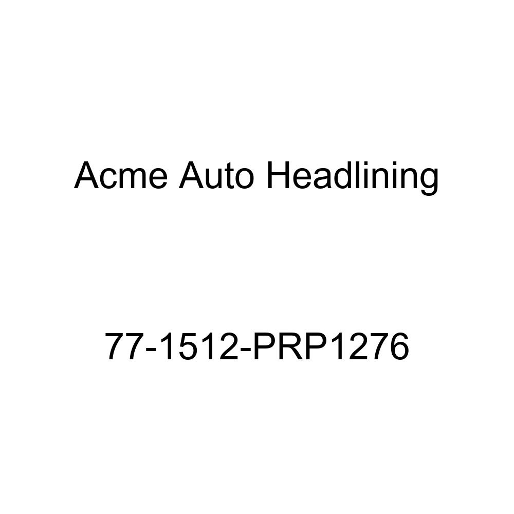 1977 Pontiac Grand Prix 2 Door Coupe 5 Bow Acme Auto Headlining 77-1512-PRP1276 Dark Green Replacement Headliner