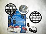 4 inch round hid fog lights - PIAA 510 Xtra Super White Driving Lamp 4