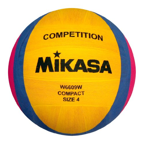 Amazon.com : Mikasa 1212 Ballon de water-polo W6609W Jaune/Bleu/Rose : Sports & Outdoors
