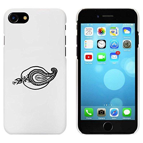 Blanc 'Motif Cachemire' étui / housse pour iPhone 7 (MC00057490)