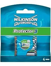 Wilkinson Sword Protector 3 ostrza do golenia dla mężczyzn, 4 ostrza do golenia, 4 szt