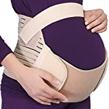 Maternity Belt - NEOtech Care Brand - Pregnancy Support - Waist/Back / Abdomen Band, Belly Brace (White, Size L)