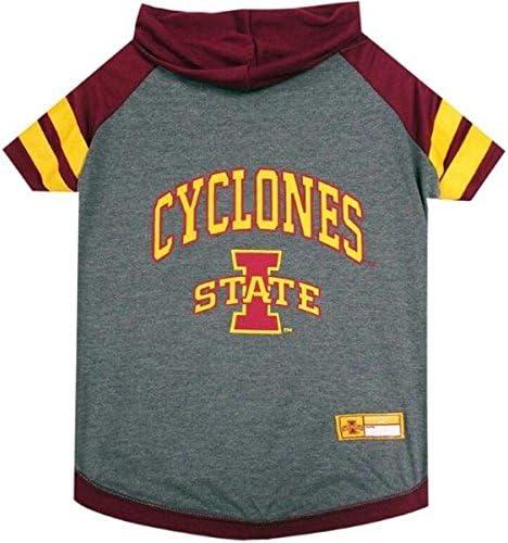 Iowa State Cyclones Pet Hoodie T-Shirt Small