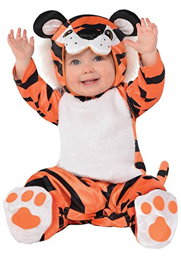 Baby Tiny Tiger Costume - 0-6 Months]()