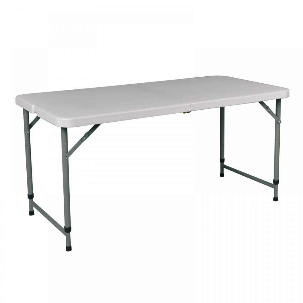Amazon Portable 4 Adjustable Folding Utility Table Camping