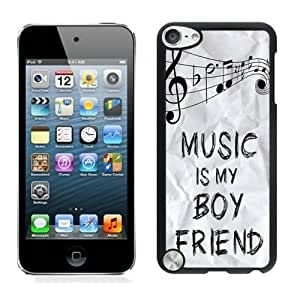 Music Is My Boyfriend Ipod Touch 5 Case Black Cover by ruishername
